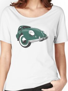VW Beetle type 1 green Women's Relaxed Fit T-Shirt