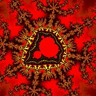 Red Mandelbrot  by Rupert Russell