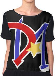 Yu-Gi-Oh GX - Duel Academy Logo Chiffon Top