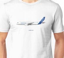 Airbus A320 with Winglets Unisex T-Shirt