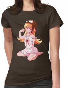 Shinobu Pin Up No. 1 Womens Fitted T-Shirt
