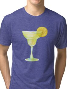 Beaker with lemon Tri-blend T-Shirt