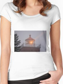 Guiding Light Women's Fitted Scoop T-Shirt