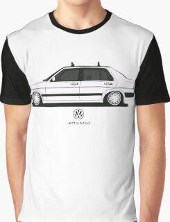 Volkswagen Jetta II Side Graphic T-Shirt