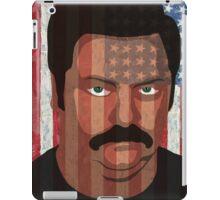 Ron Swanson - 'Murca iPad Case/Skin