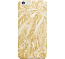 After Rain Plant Design (Spicy Mustard Color) iPhone Case/Skin