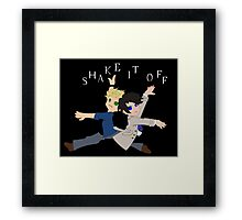 Supernatural Parody - Shake it off Framed Print