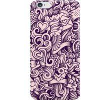 Beautiful Love Doodle Design iPhone Case/Skin