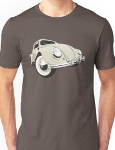 VW Beetle type 1 cream Unisex T-Shirt