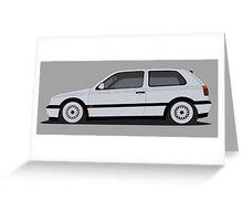 Golf III GTI Greeting Card