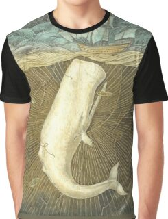 White Whale Graphic T-Shirt