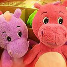 *Two large soft toys in K-Mart in a large box* by EdsMum