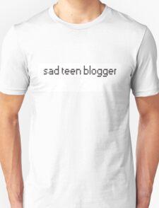 Sad Teen Blogger Unisex T-Shirt