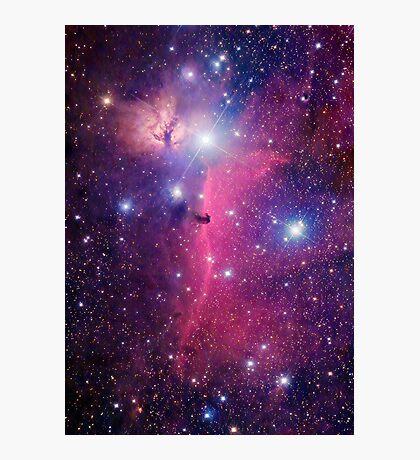 Purple Galaxy Photographic Print