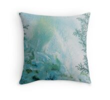 Underwater Winter Throw Pillow