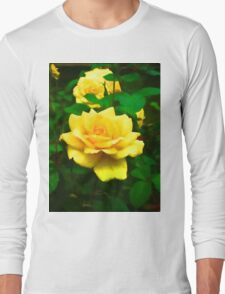 Golden Rose Long Sleeve T-Shirt