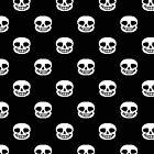 Undertale Sans Pattern - Black by sophjade