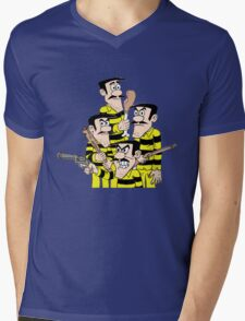 lucky luke Mens V-Neck T-Shirt