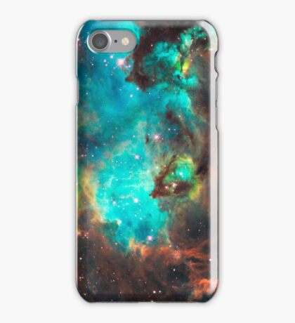 Green Galaxy iPhone Case/Skin