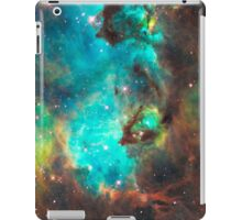 Green Galaxy iPad Case/Skin