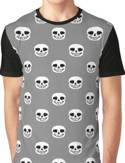 Undertale Annoying Dog - Grey Graphic T-Shirt