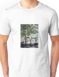 Rainy Day In Melbourne Unisex T-Shirt