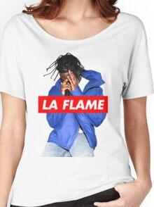 Travi$ Scott - La Flame (Colour) Women's Relaxed Fit T-Shirt