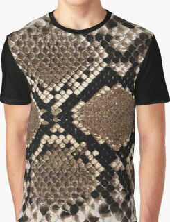 Snake Skin Design Graphic T-Shirt