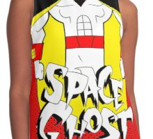 space ghost Contrast Tank