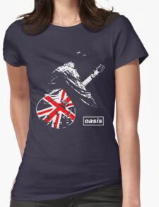 Oasis #1 Womens Fitted T-Shirt