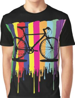 Rainbow bicycle Graphic T-Shirt