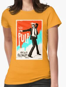 Pulp 1 Womens Fitted T-Shirt