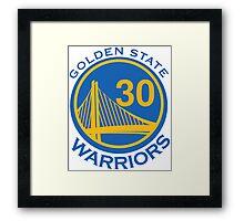 Golden State Warrirors (30) Framed Print
