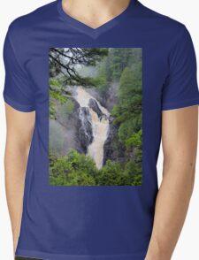 Big Manitou Falls 2 Mens V-Neck T-Shirt