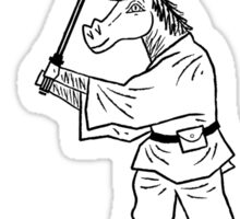 May The Horse Be With You Sticker
