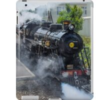 Steam train on the Romney Hythe and Dymchurch Railway, Kent iPad Case/Skin