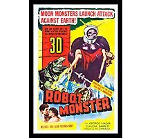 Robot Monster Photographic Print