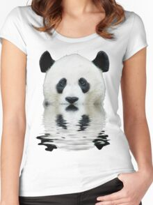Water panda Women's Fitted Scoop T-Shirt