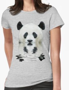 Water panda Womens Fitted T-Shirt