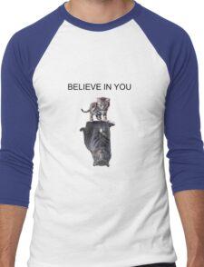Believe in you Men's Baseball ¾ T-Shirt