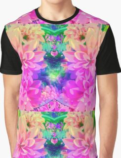 Pinks and Lilacs Graphic T-Shirt