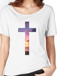 Christian Cross Women's Relaxed Fit T-Shirt