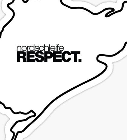 nordschleife RESPECT. Sticker