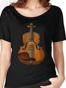 Violin Women's Relaxed Fit T-Shirt
