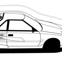 Toyota AW11 MR2 - AERO Graphic Sticker