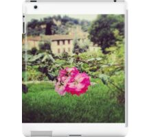 Beautiful flower in historical Florence iPad Case/Skin