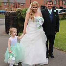 Laura Laicey & Laura's Father Arriving, by AnnDixon