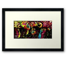 Pineal Field- Pollination Framed Print