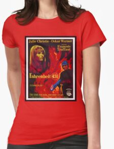 Fahrenheit 451 Womens Fitted T-Shirt
