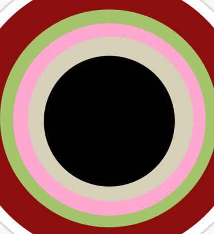 Kreis Rot Sticker
